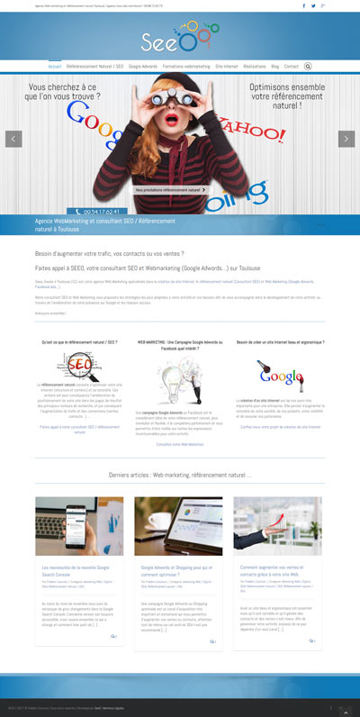 Creation site Internet toulouse